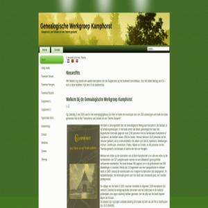 Genealogische Werkgroep Kamphorst